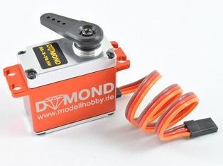 DYMOND DS-X TG HV brushless digital (Aluhus) Servo