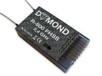 DYMOND R-800 FHSS 2,4 GHz mottagare